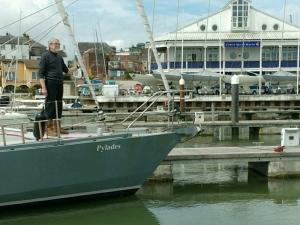 skipper-at-cowes